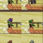 Reptilian Player Head